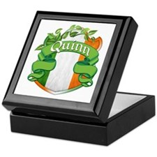 Quinn Shield Keepsake Box