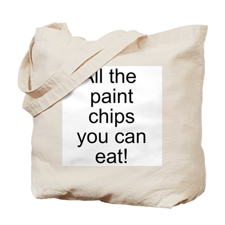 All the Paint Chips Tote Bag