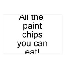 All the Paint Chips Postcards (Package of 8)