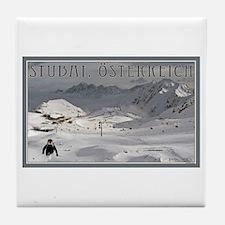 Stuabi Glacier Tile Coaster