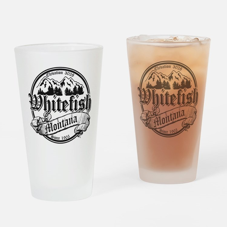 Whitefish Drinkware Drinking Glass