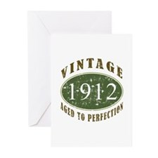 Vintage 1912 Retro Greeting Cards (Pk of 20)