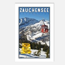 Zauchensee Postcards (Package of 8)