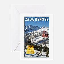 Zauchensee Greeting Card