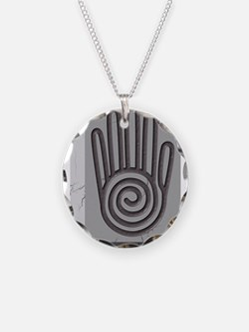 Cute Healing hands Necklace