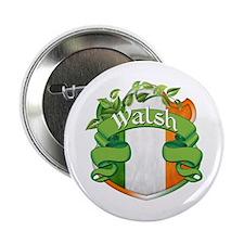"Walsh Shield 2.25"" Button"
