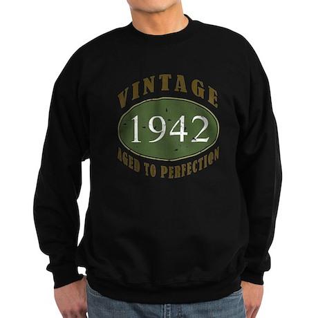 Vintage 1942 Retro Sweatshirt (dark)