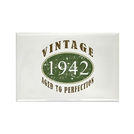 Vintage 1942 Retro Rectangle Magnet (10 pack)