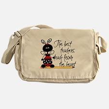 Ladybug Teacher Messenger Bag