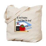 Elementary school teacher Canvas Bags