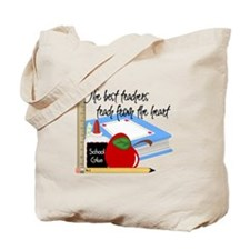 Teach From Heart Tote Bag