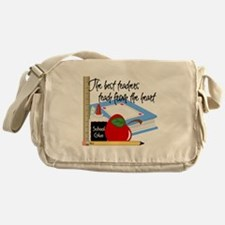 Teach From Heart Messenger Bag