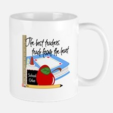 Teach From Heart Mug