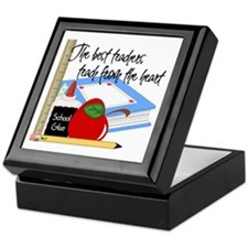 Teach From Heart Keepsake Box