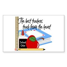 Teach From Heart Decal