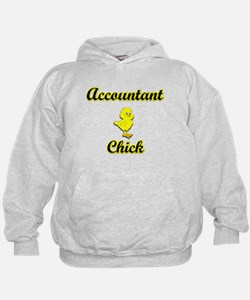 Accountant Chick Hoodie