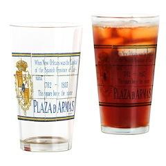 Bourbon St Tile Mural Drinking Glass