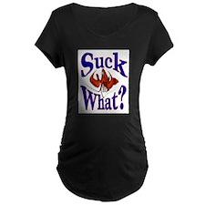 Suck What ? Crawfish Shirt T-Shirt