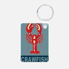 Crawfish In Red and Blue Keychains