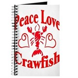 Crawfish Journals & Spiral Notebooks