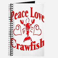 Peace Love Crawfish Journal