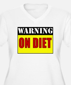 Warning: On Diet T-Shirt