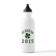Class Of 2015 Shamrock Water Bottle