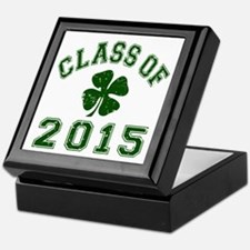 Class Of 2015 Shamrock Keepsake Box