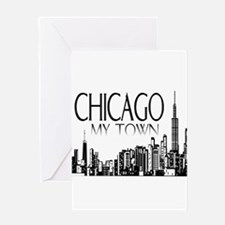 Chicago My Town Greeting Card