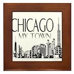 Chicago My Town Framed Tile