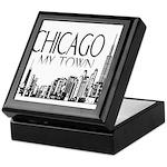 Chicago My Town Keepsake Box