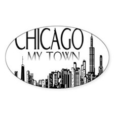 Chicago My Town Decal