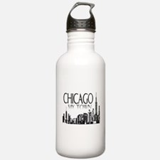 Chicago My Town Water Bottle