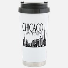 Chicago My Town Travel Mug
