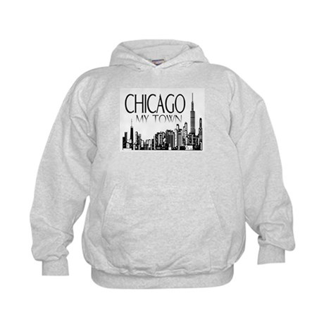 Chicago My Town Kids Hoodie