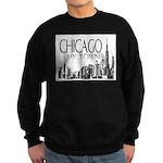 Chicago My Town Sweatshirt (dark)