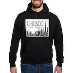 Chicago My Town Hoodie (dark)