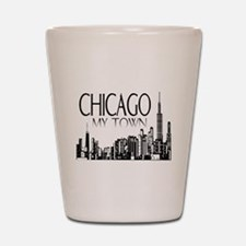 Chicago My Town Shot Glass