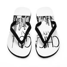 Chicago My Town Flip Flops