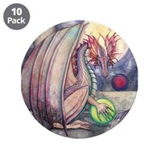 Colorful Dragon Fantasy Art by Molly Harrison 3.5""