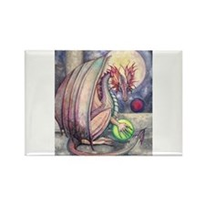 Colorful Dragon Fantasy Art by Molly Harrison Rect