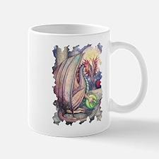 Colorful Dragon Fantasy Art by Molly Harrison Mug