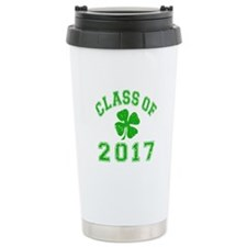 Class Of 2017 Shamrock Travel Mug