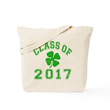 Class Of 2017 Shamrock Tote Bag