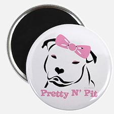 Pretty N' Pit Logowear Magnet