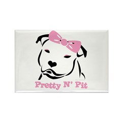 Pretty N' Pit Logowear Rectangle Magnet