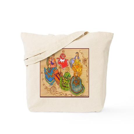 Ballet Folklorico Tote Bag