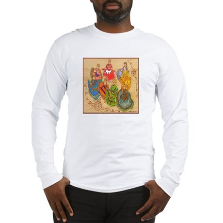 Ballet Folklorico Long Sleeve T-Shirt