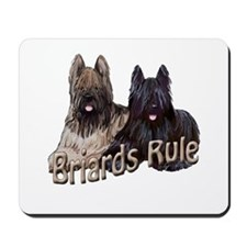 Briards Rule Mousepad