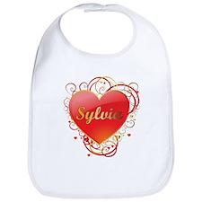 Sylvia Valentines Bib